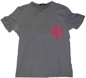 Louis Vuitton Grey Cotton T-shirts