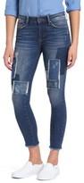Mavi Jeans Women's Adriana Patched Stretch Skinny Jeans