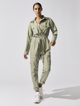 Carbon38 Stretch Cargo Jumpsuit