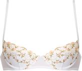 La Perla Liaison embroidered-tulle balconette bra