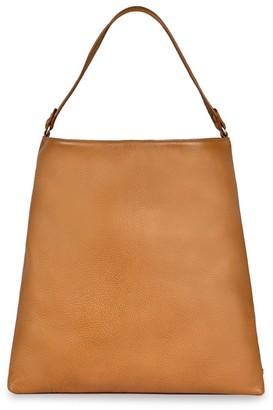 GiGi New York Harlow Pebbled Leather Hobo Bag