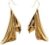 En L'Air Statement Earrings In Gold