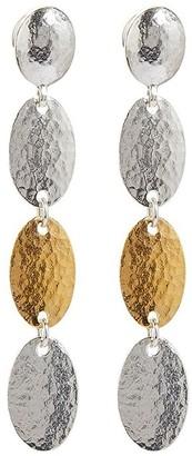 Gurhan 24kt gold Mango Stiletto drop earrings