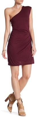 H By Bordeaux One Shoulder Dress