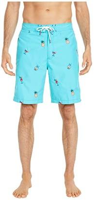 Tommy Bahama Baja On The House Boardshorts (Pool Party Blue) Men's Swimwear
