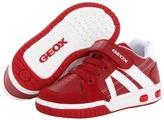 Geox Kids - Jr Gregg (Toddler/Little Kid) (Red/Off White) - Footwear