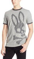 Psycho Bunny Men's Color Block Retro T-Shirt