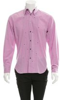 Paul Smith Pleated Button-Up Shirt