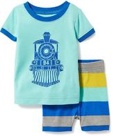 Old Navy 2-Piece Train-Graphic Sleep Set for Toddler & Baby