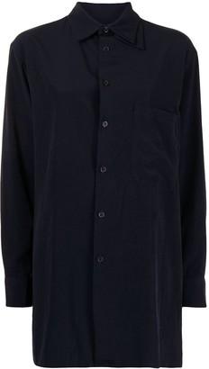 Y's Double Collar Long-Sleeve Shirt