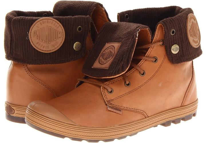 Palladium Slim Baggy Leather (Vapor/Metal) - Footwear