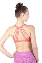 Queenie Ke Women's Light Air Back Support Yoga Energy Sports Bra Size L Color Light