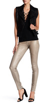 Level 99 Janice Ultra Skinny Metallic Print Jegging