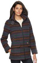 Woolrich Women's Century Striped Wool Blend Coat