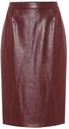Baum und Pferdgarten Exclusive to Mytheresa a Sienna faux leather pencil skirt