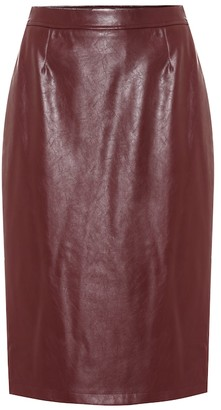Baum und Pferdgarten Exclusive to Mytheresa Sienna faux leather pencil skirt
