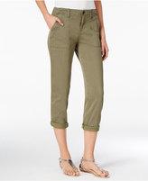 Calvin Klein Jeans Utility Cropped Pants