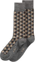 Alfani Men's Hex-Striped Socks, Created for Macy's