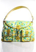 Rafe Multi Color Polka Dot Shoulder Handbag