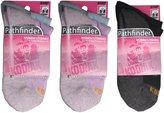Kodiak Women's 6 Pairs of Soft Outdoor Quarter Socks, US Shoe Size 4-10
