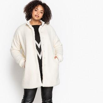 Castaluna Plus Size Faux Fur Coat