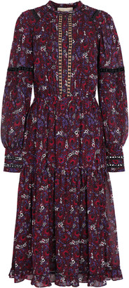 MICHAEL Michael Kors Printed Crepe Dress