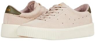 Gola Super Court Suede (Blossom/Khaki) Women's Shoes