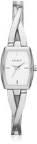 DKNY Crosswalk Silver Tone Stainless Steel Women's Watch