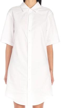 Alexander Wang Oxford Shirt Chain Dress