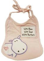 Grasslands Pink Baby Bib