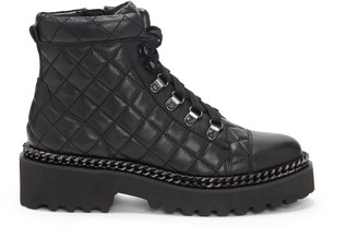 Vince Camuto Maissa Quilted Combat Boot - Code: STEAL50