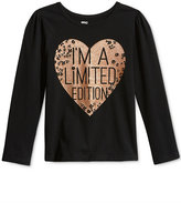 Epic Threads Little Girls' Mix and Match Limited Edition Graphic-Print Long-Sleeve T-Shirt, Only at Macy's