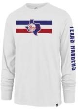 '47 Texas Rangers Men's Cross Stripe Long Sleeve T-Shirt