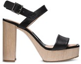 Calvin Klein Calf Chunky Heel Platform Sandal