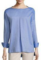 Piazza Sempione Cotton Oxford Tunic
