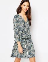 Esprit Paisley Wrap Dress