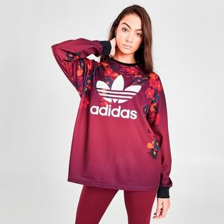 adidas Women's HER Studio London Crew Sweatshirt