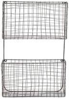 Nkuku Locker Room Magazine Rack - Distressed Grey