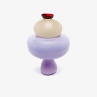 Helle Mardahl purple Candy Jar vase