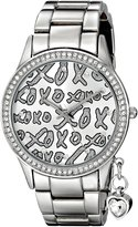XOXO Women's XO5144 -Tone Bracelet with Heart Charm Watch