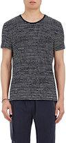 ATM Anthony Thomas Melillo Men's Broken-Striped Cotton T-Shirt