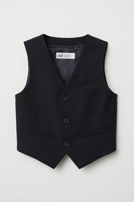 H&M Suit Vest - Black