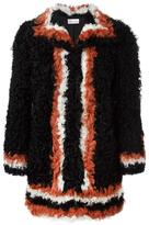 RED Valentino contrasting detail coat