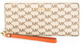 MICHAEL Michael Kors logo print wallet - women - Leather - One Size