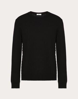 Valentino Sweaters Man Black Cashmere 100% XS