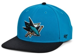 '47 San Jose Sharks Pro Fitted Cap