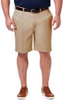 Haggar Chino Shorts-Big and Tall