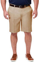 Haggar Cool 18 Pro Classic Fit Solid Pleat Shorts - Big and Tall