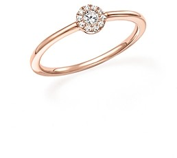 Bloomingdale's Diamond Cluster Stacking Ring in 14K Rose Gold, .10 ct. t.w. - 100% Exclusive