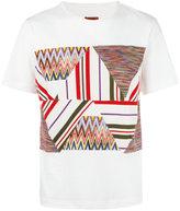 Missoni patchwork panel T-shirt - men - Cotton - XXL